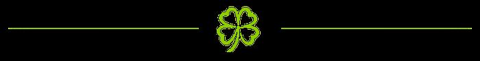 divider-clover-leaf-green